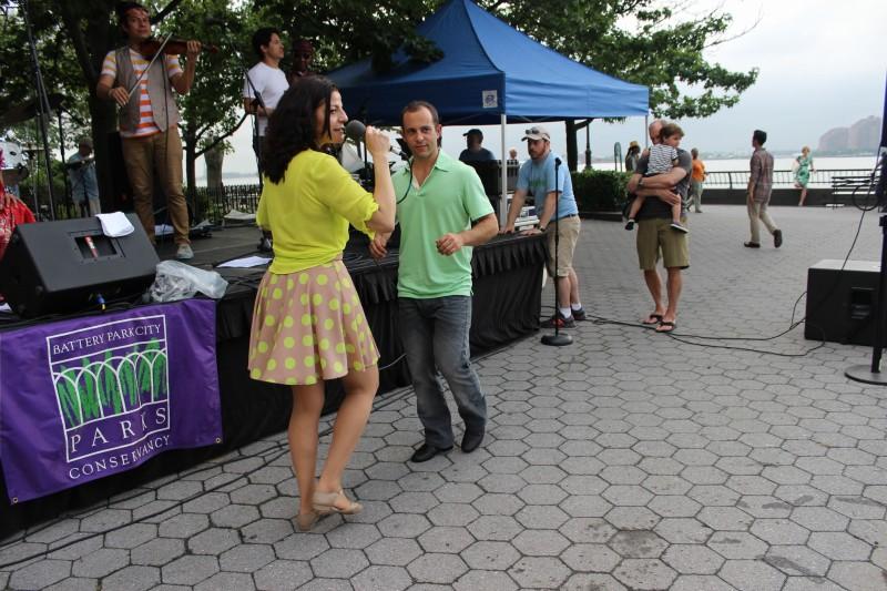 The Brazilian Family Dance at the Battery Park Esplanade